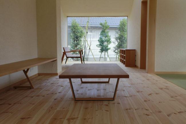オーダー家具 | コーヒーテーブル | 備え付け家具  | 山形・仙台を中心にオリジナル家具・オーダー家具、インテリアのデザイン・製作・納品をおこなっています。おしゃれ。