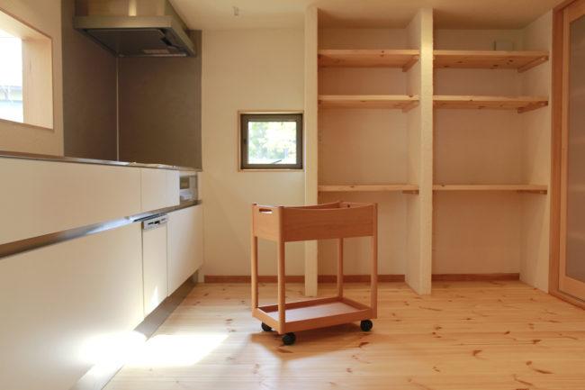 オーダー家具 | キッチンワゴン | 備え付け家具 | 山形・仙台を中心にオリジナル家具・オーダー家具、インテリアのデザイン・製作・納品をおこなっています。おしゃれ。