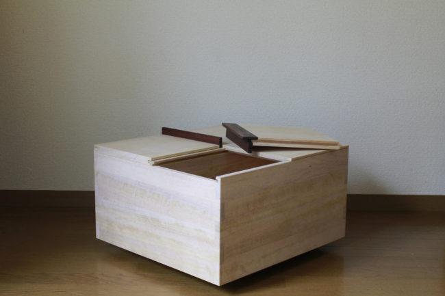 米びつ | 米櫃 | 山形・仙台を中心にオリジナル家具・オーダー家具、インテリアのデザイン・製作・納品をおこなっています。おしゃれ。