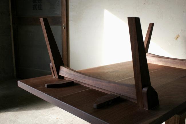 折り畳みテーブル | テーブル | folding table | 山形・仙台を中心にオリジナル家具・オーダー家具、インテリアのデザイン・製作・納品をおこなっています。おしゃれ。