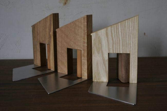 ブックエンド | 山形・仙台を中心にオリジナル家具・オーダー家具、インテリアのデザイン・製作・納品をおこなっています。おしゃれ。