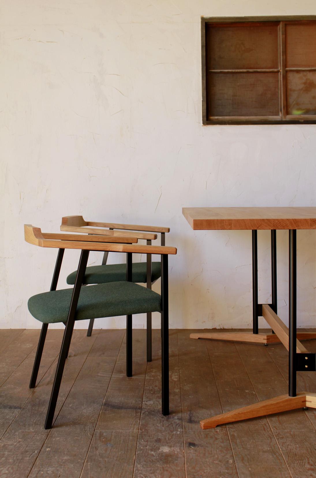 福井建設 | ダイニングテーブル | ダイニングセット | アームチェア | 山形・仙台を中心にオリジナル家具・オーダー家具、インテリアのデザイン・製作・納品をおこなっています。おしゃれ。