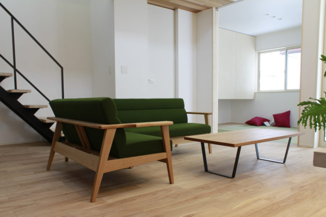 ソファー | リビングソファー | ダイニングセット | コーヒーテーブル | 山形・仙台を中心にオリジナル家具・オーダー家具、インテリアのデザイン・製作・納品をおこなっています。おしゃれ。