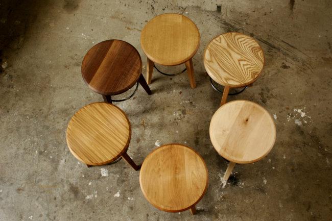 スツール | 丸椅子 | ハイスツール | 山形・仙台を中心にオリジナル家具・オーダー家具、インテリアのデザイン・製作・納品をおこなっています。おしゃれ。