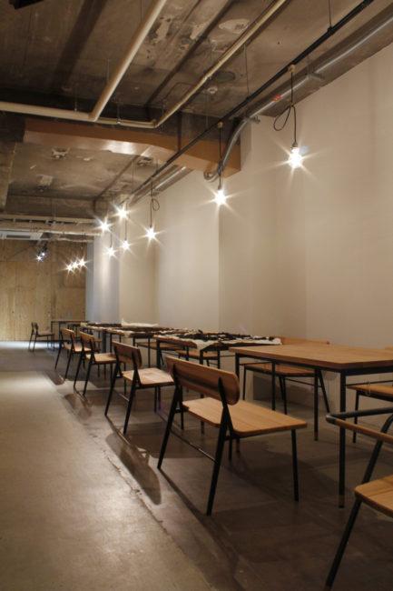 リノベーション | ダイニングテーブル | ダイニングセット | 食堂nitaki | とんがりビル | 山形・仙台を中心にオリジナル家具・オーダー家具、インテリアのデザイン・製作・納品をおこなっています。おしゃれ。