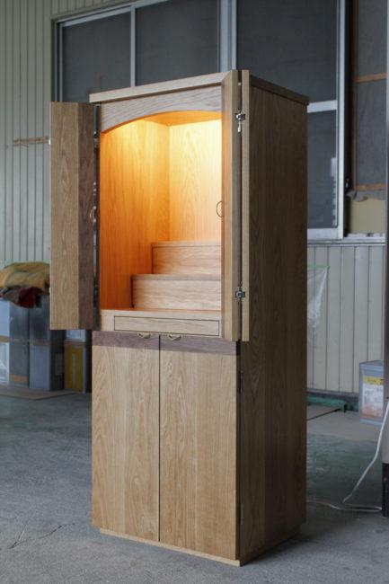 仏壇 | お仏壇  | 山形・仙台を中心にオリジナル家具・オーダー家具、インテリアのデザイン・製作・納品をおこなっています。おしゃれ。