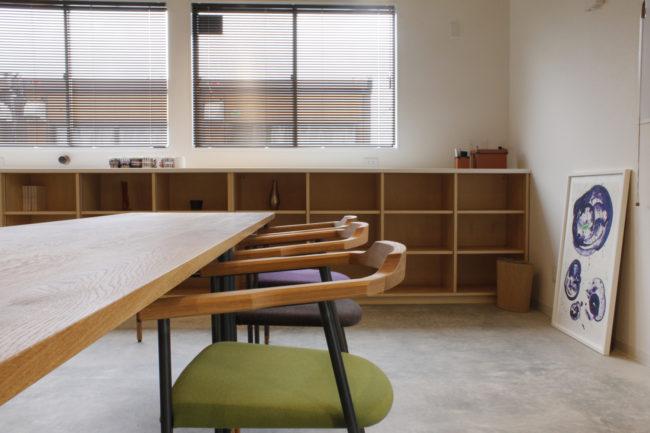 ミーティングテーブル | テーブル | アームチェア  | 椅子 | 山形・仙台を中心にオリジナル家具・オーダー家具、インテリアのデザイン・製作・納品をおこなっています。おしゃれ。