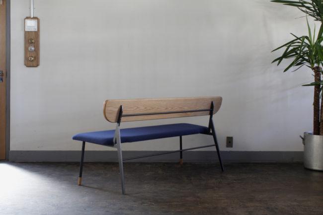 ベンチ | 食堂nitaki | とんがりビル  | 山形・仙台を中心にオリジナル家具・オーダー家具、インテリアのデザイン・製作・納品をおこなっています。おしゃれ。