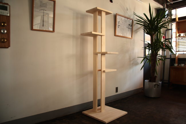Cat Tower | キャットタワー | 山形・仙台を中心にオリジナル家具・オーダー家具、インテリアのデザイン・製作・納品をおこなっています。おしゃれ。